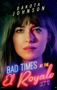 Bad Times Royale Posters, Dakota Johnson