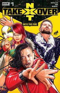 WWE NXT Takeover: Fire #1, BOOM! Studios