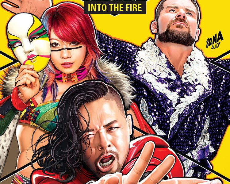 5 Reasons To Get 'WWE NXT Takeover: Into The Fire' #1!