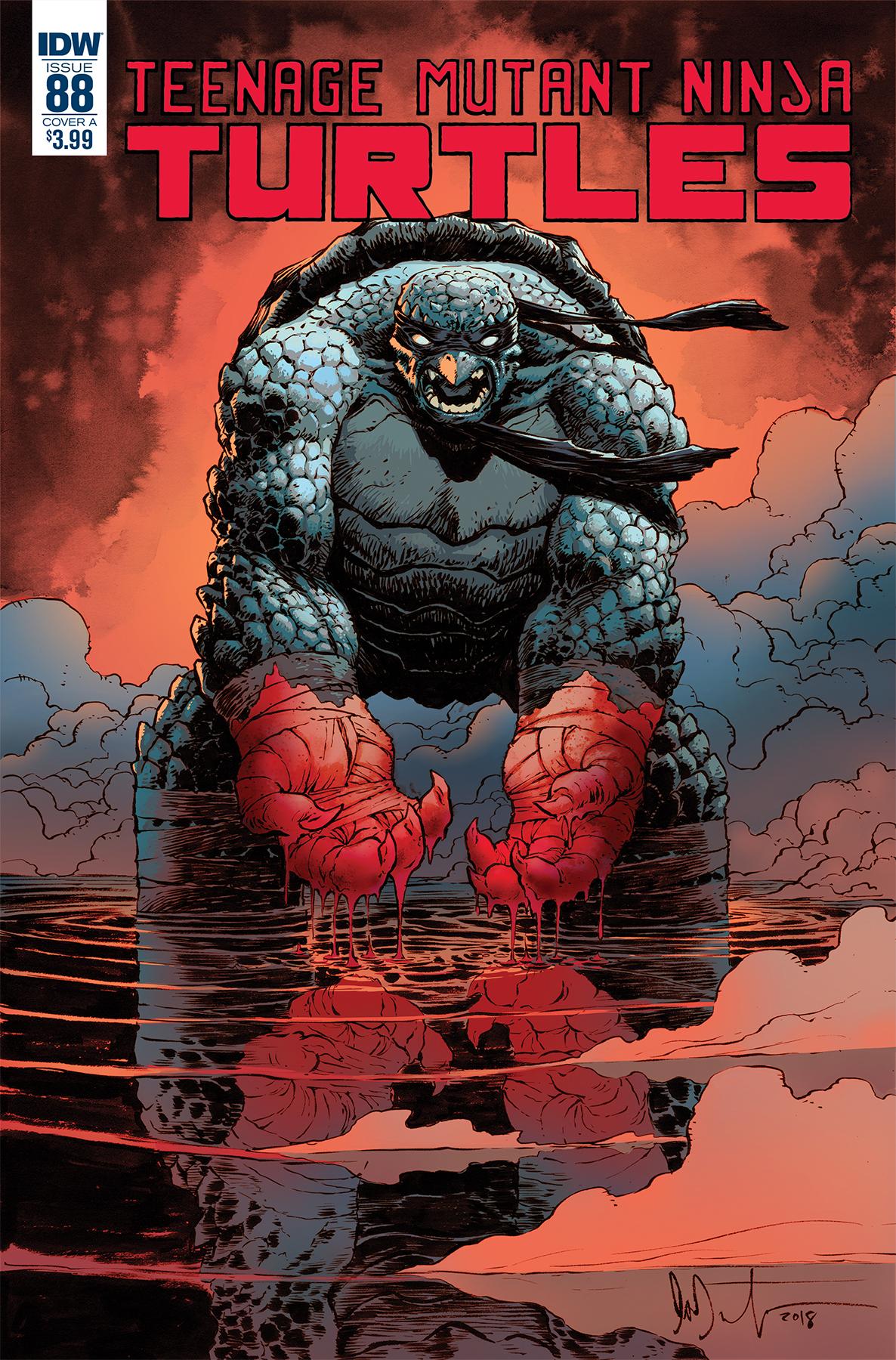 Teenage Mutant Ninja Turtles #88, IDW Publishing