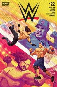 WWE #22. BOOM! Studios