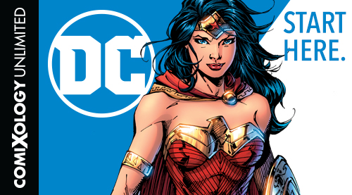 DC Comics ComiXology Unlimited, Amazon