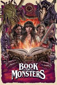 Lizzie Aaryn-Stanton, Book Monsters Blu-Ray Artwork, Epic Pictures