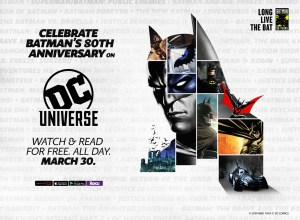 Batman 80th Birthday, DC Universe