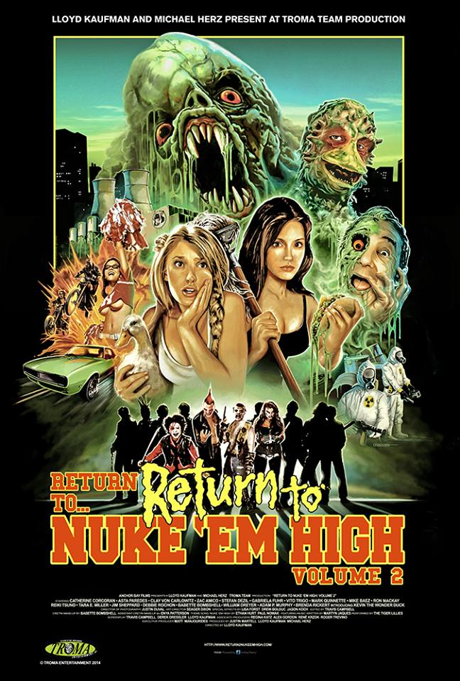 Return Nuke Em High, Troma