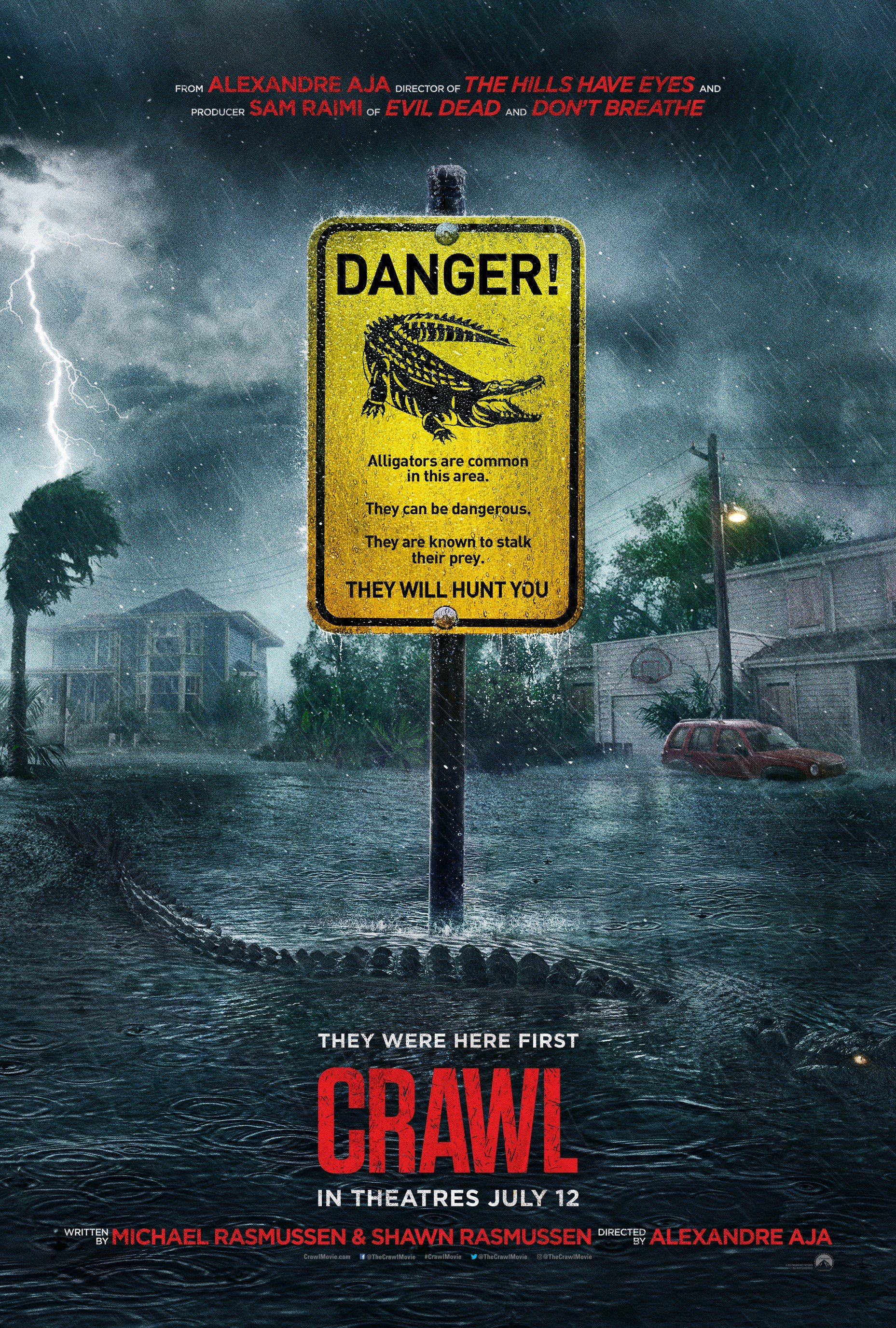 Crawl Official Trailer, Crawl
