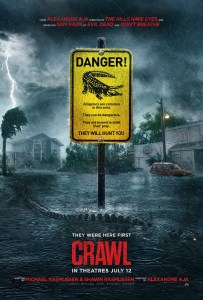 Kaya Scodelario, Crawl Official Trailer, Crawl