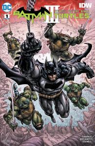 Batman/Teenage Mutant Ninja Turtles III #1, DC Comics