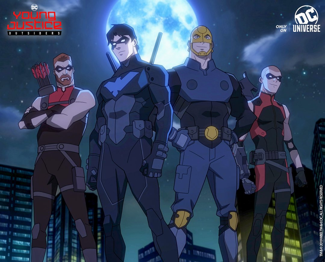 Young Justice Outsiders Stream