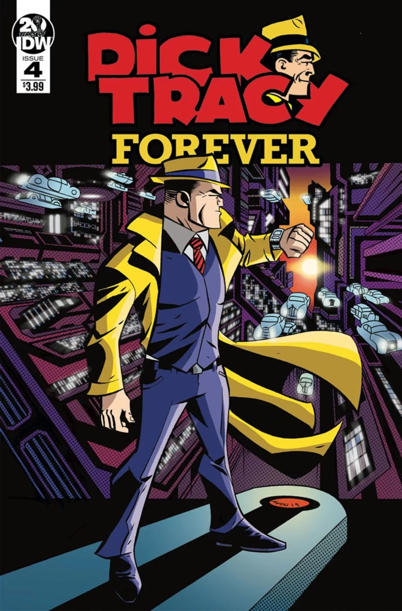 Dick Tracy Forever #4, IDW Publishing