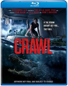 Crawl, Blu-Ray