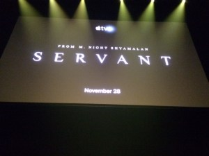 Servant, M Night