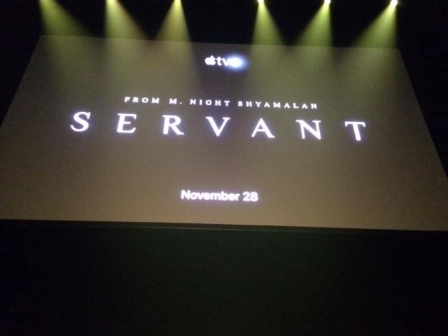 Servant, M Night