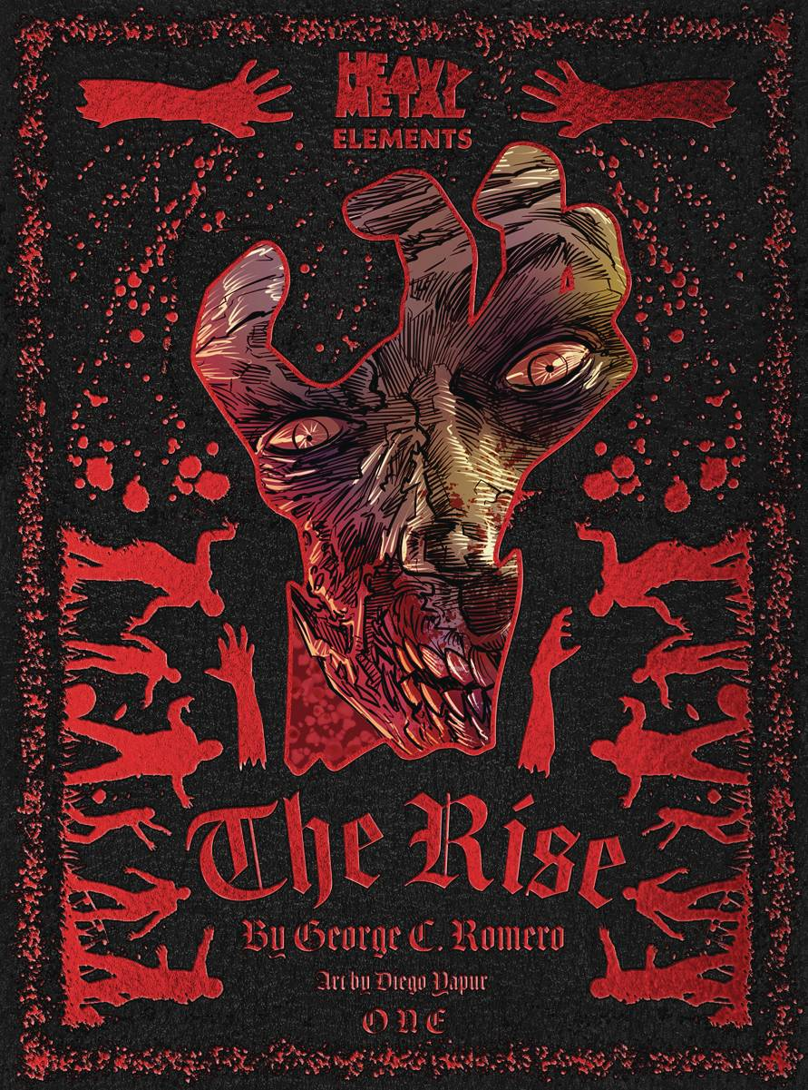 5 Reasons To Read 'Rise' #1 (Heavy Metal Elements)!, Rise