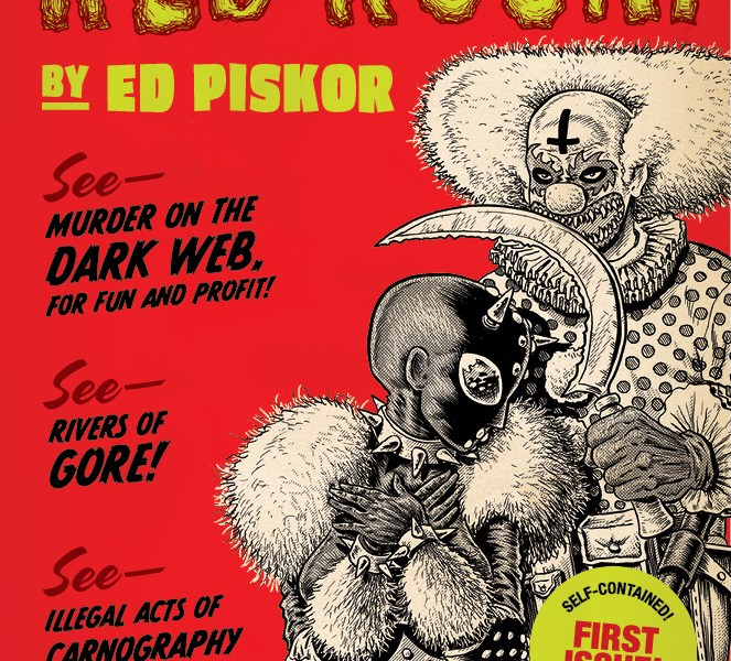 5 Reasons To Read 'Red Room' #1 (Fantagraphics)!