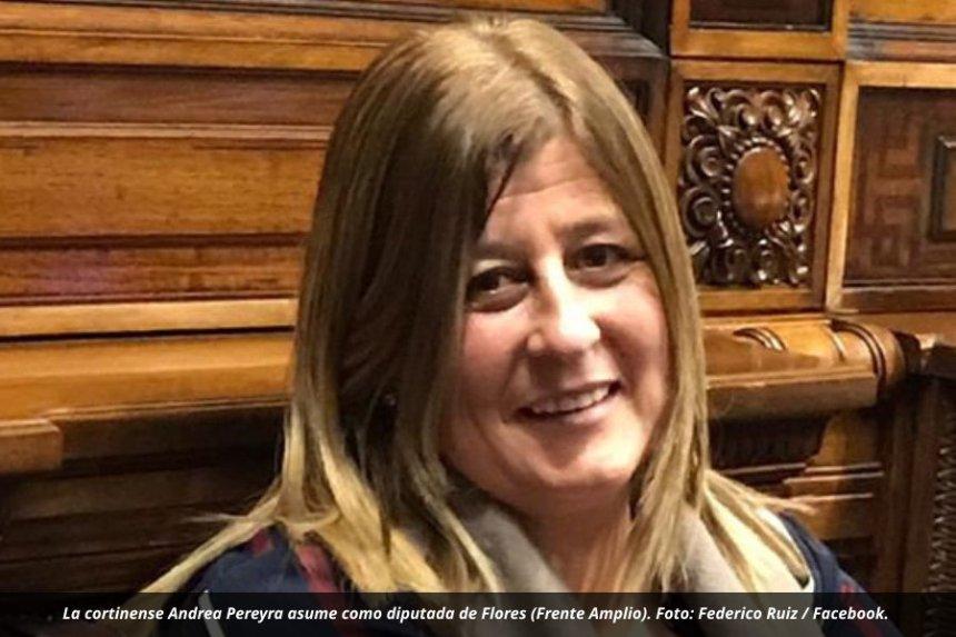 Ismael Cortinas tendrá por primera vez un diputado y es mujer