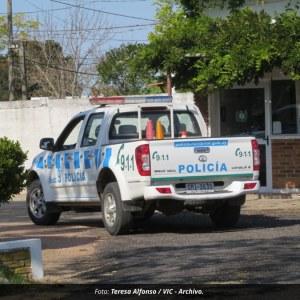 Procedimiento policial en Santa Adelaida con apoyo de la Seccional Novena