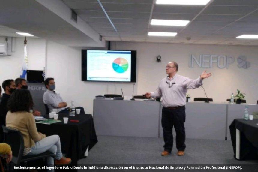Pablo Denis: nuevas tecnologías, comunidades inteligentes y Formación Dual