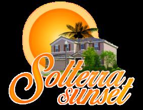 florida vacation rental home logo design