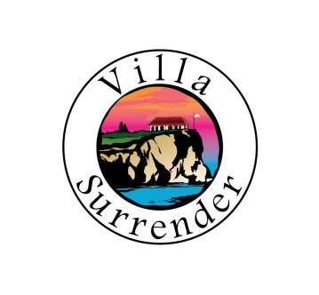 luxury curacao vacation rental logo design