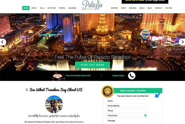 Las Vegas Villa Rental