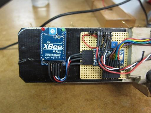 Final electronics layout