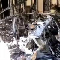 Leégett egy Porsche Taycan