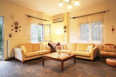 Καθιστικό στον 1ο όροφο, Βίλα Ριλάξ, Θάσος