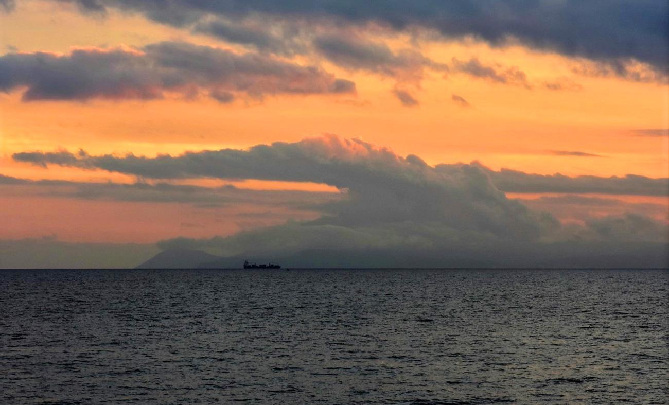 Закаты в Скала Каллирахи Тасос
