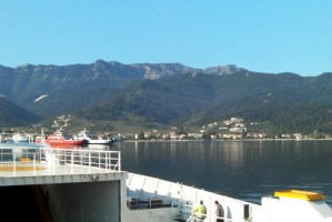 How to reach to Thassos island