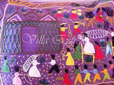 mexico pillow art