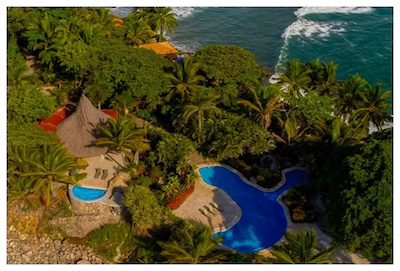 Villa Estrella Property from the Air