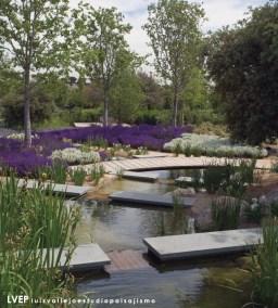Jardín privado, La Finca