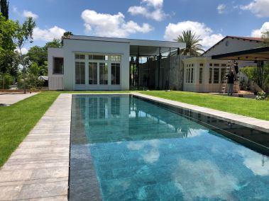 Negro Encina_Private swimming pool, Tel Aviv(Israel)