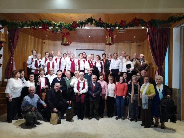Fiesta de Navidad del centro de mayores