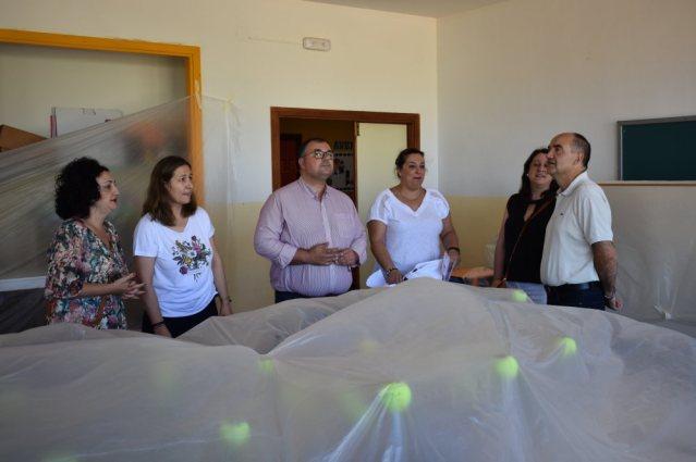 visita de obras alcalde y concejales