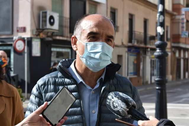 valentin bueno, alcalde de Villarrobledo