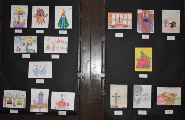 Dibujos ganadores concurso Semana Santa