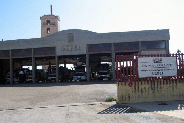 Visita al parque de bomberos de Villarrobledo 1