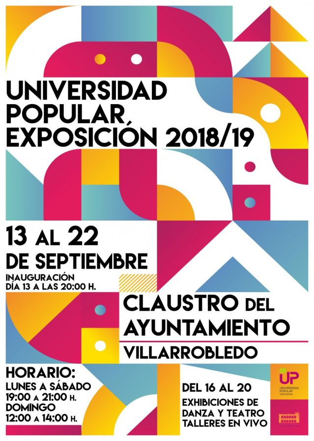 Cartel exposición UP