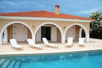 Zante Vista, Villa Porto Koukla, Zante, Ionian Islands, swimming pool, sunbeds