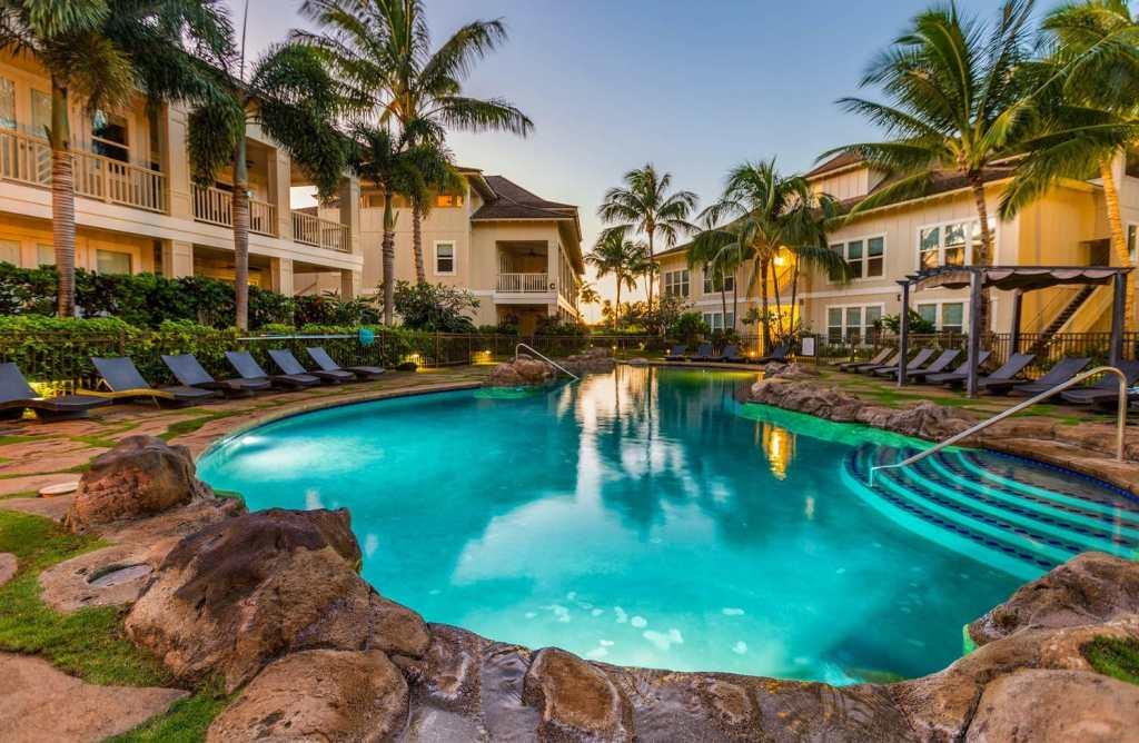 private pool in kauai