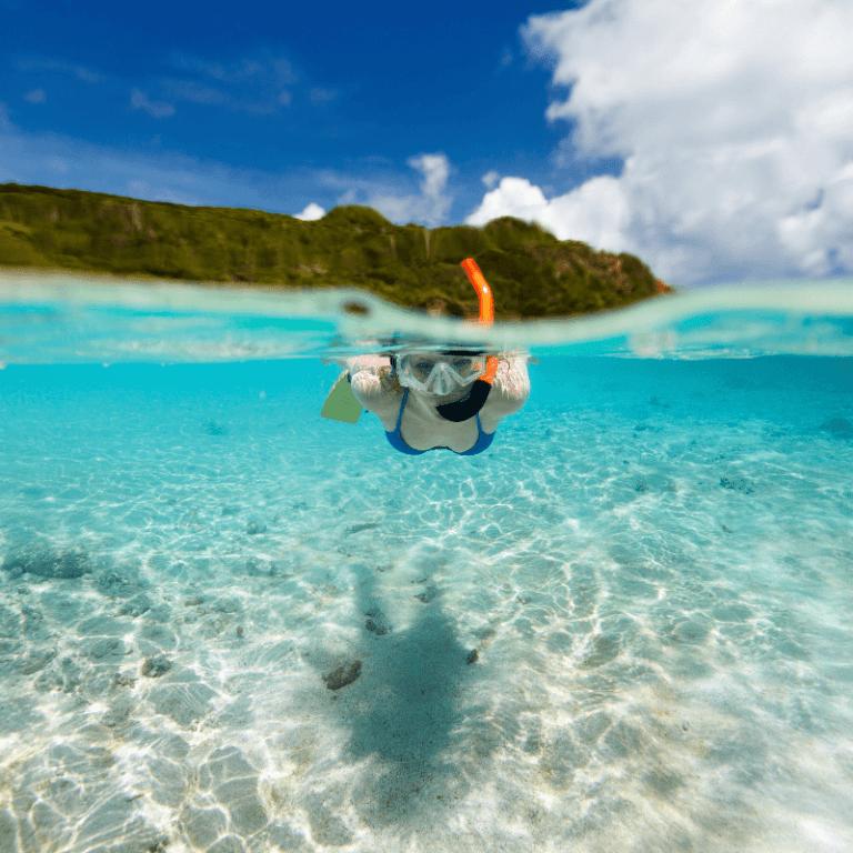 snorkelling kauai