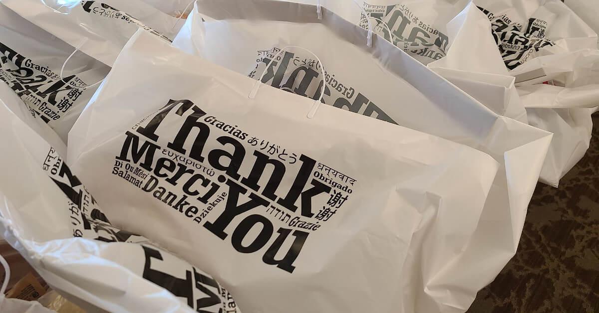 Thank you bag fb