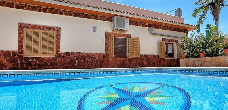 Chalet con piscina en venta en Santanyí