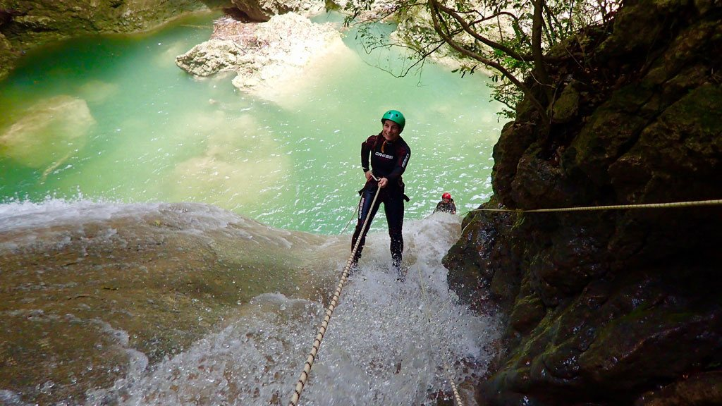 Canyoning Tours Near Cabarete, Dominican Republic