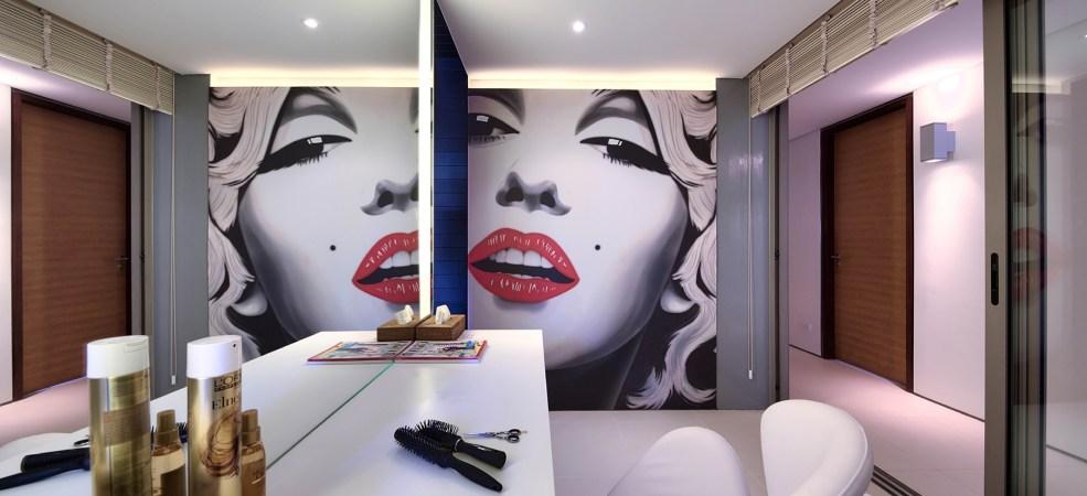 Hairdressing & Make-up area