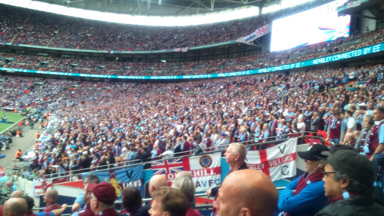 Aston Villa FA Cup Wembley - Spurs 3rd Round