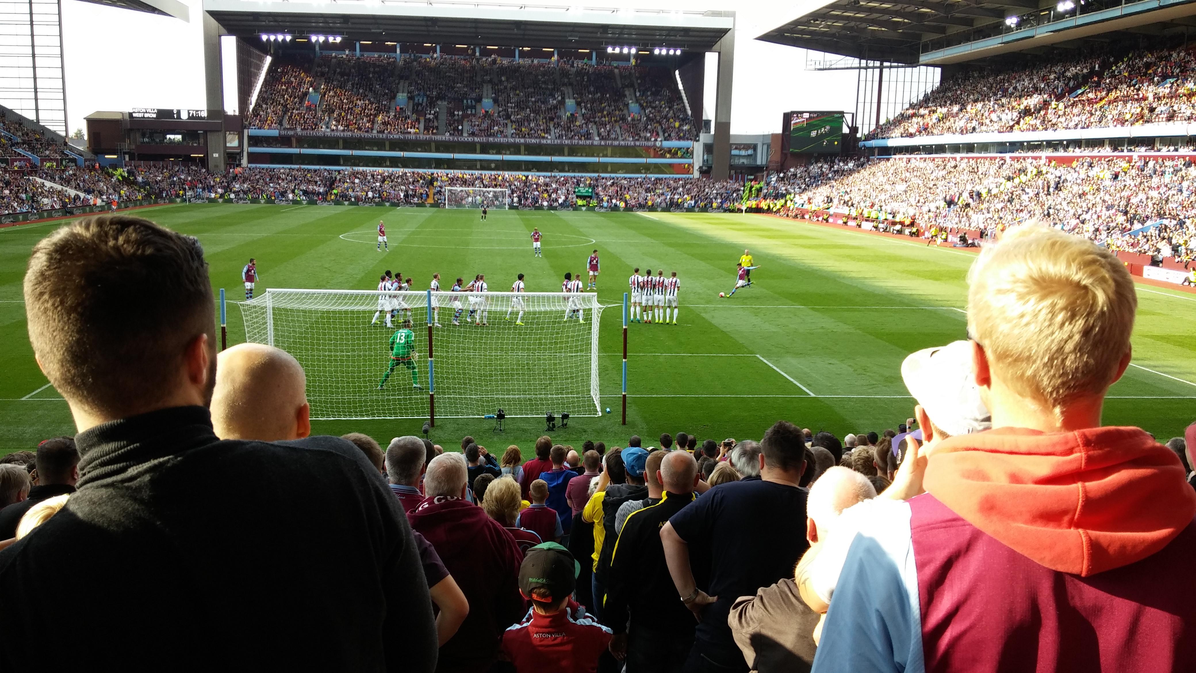 Villa Match Ratings