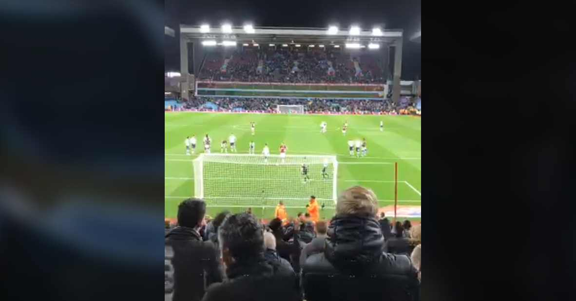 Glenn Whelan penalty miss Villa Park